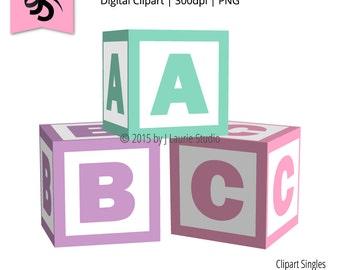 Clip Art Baby Blocks Clipart baby blocks clip art etsy digital clipart singles alphabet shower graphics scrapbook element png instant download art
