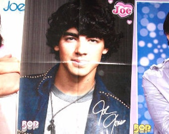 JOE JONAS ~ DNCE, Cake By The Ocean, Toothbrush, See No More, Burnin' Up, The Jonas Brothers ~ Color Posters for Scrapbooking