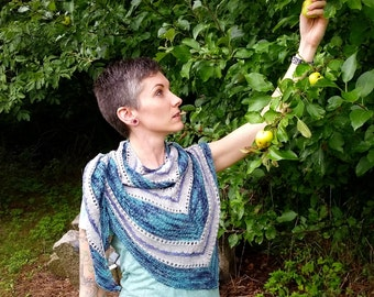 Soul Sigh Shawl Knitting Pattern