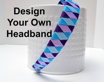 Woven Headbands, Girls Headbands, Toddler Headbands, Adult Headbands, Head Bands, Woven