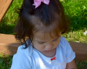 Hair Bows, Baby Hair Bows, Toddler Hair Bows, Small Bows, Baby Bows, Hair Bows for Girls, Hairbows, Spit Tail Bows, Girls Hair Bows, 200