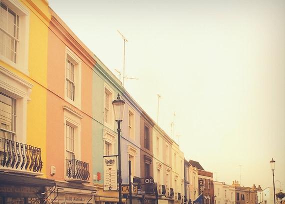 notting hill portobello market street london photo print. Black Bedroom Furniture Sets. Home Design Ideas