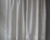 Vintage Cotton Lace Curtains