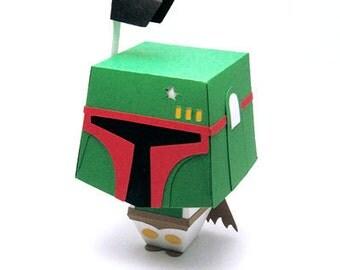 Star Wars Inspired Boba Fett Gift Box Display