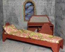 Doll Furniture Queen Anne kit for Blythe Barbie Liv Monster High Bratzillaz