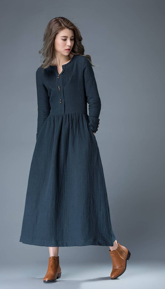 Product Features This long sleeve dress suit for Daily Wear,School,Vacation,Work,party,beach.
