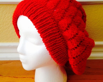 Once Upon a Time-Inspired Ruby Slouch Hat