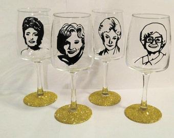 Character Wine Glasses