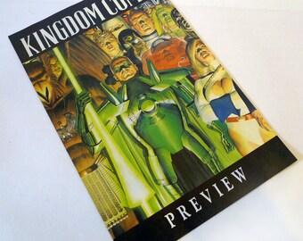 KINGDOM COME Preview Promo Booklet 1996 Alex Ross DC Comics