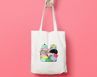 Feeling Lucky Kitty Tote Bag