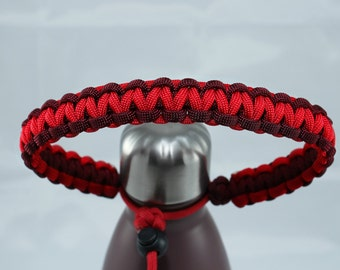 Maroon & Red Color Paracord Handle