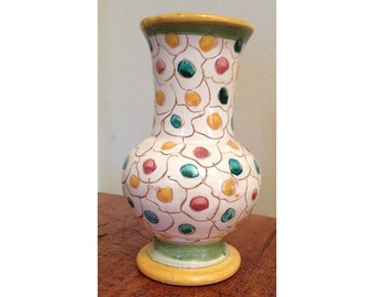 Colorful Italian Vase
