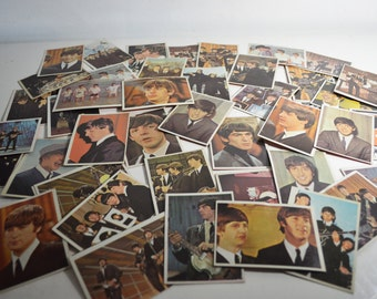 Beatles Color Cards and Diary Cards, 58 cards