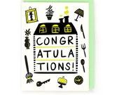 Congrats New House Card