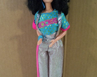 Vintage Barbie & the Rockers Dana Doll, 1986, Mattel