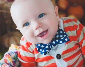 Baby boy Cardigan and Bow Tie Set - Trendy Baby Boy - Fall Orange and Oat - Cardigan Onesie