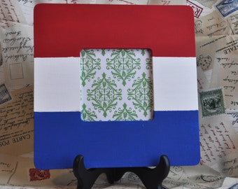 Dutch flag frame
