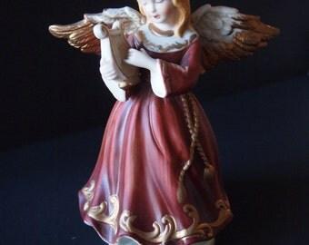 Ceramic Musical Angel Figurine