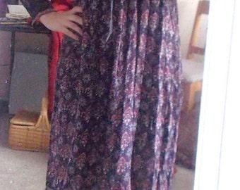 Vintage 70s festival dress