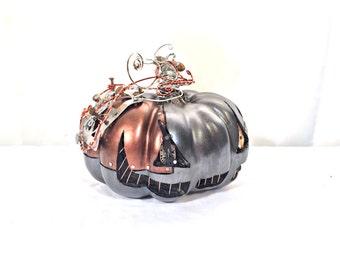 Steampunk Clockwork Halloween Pumpkin