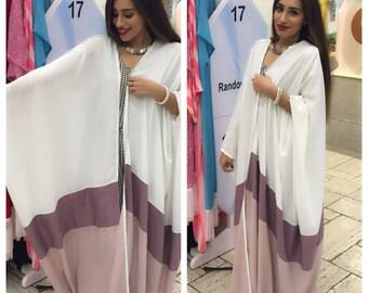 Coloured Abaya