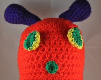 Very Hungry Caterpillar Crochet Hat