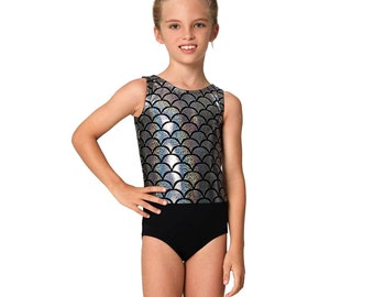Gymnastics leotard pattern, dance pattern, swimwear pattern, girls leotard pattern PDF, ballet leotard pattern, sewing pattern LEOTARD #2