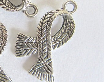 Scarf pendants etsy 10 pieces antique silver scarf pendants aloadofball Images