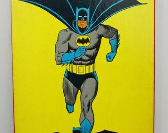 1976 DC Comics Batman Cartoon Kit Colorforms Set - COMPLETE - Robin, Joker, Penguin Too!