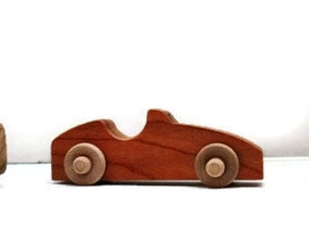 Toy cars,wooden car, wooden toy car, Set of 3, handmade, eco friendly, child safe, durable, scrollsawed, hardwood toy cars,small cars
