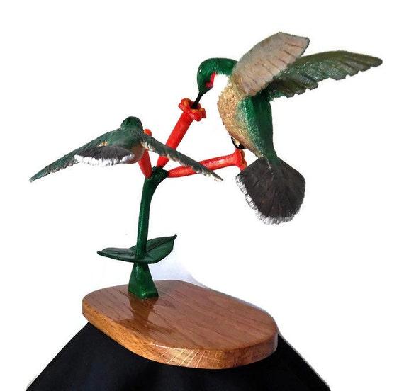 Hummingbirds Cabin Decor Country Home By ScrollingLumberjack