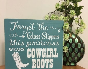 Forget the Glass Slippers, This Princess Wears Cowboy Boots