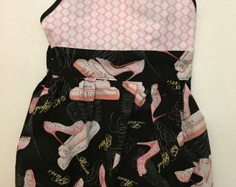 Little Girls Shorts Romper- Size 2