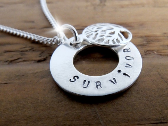 Tree of Life Semicolon Necklace, Survivor Semicolon Necklace, Silver Semicolon Necklace, Believe Semicolon Necklace, Warrior Necklace