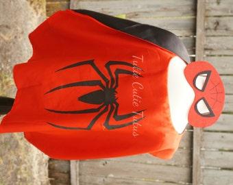 Spiderman Super Hero Mask and Cape