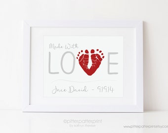 Valentines Day Gift for New Dad from Baby's First