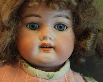 Schoenau & Hoffmeister Composition Doll with Bisque Head, Model 5000