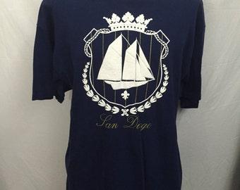Vintage San Diego T-Shirt Size XL