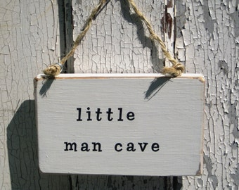 Little Man Cave,Baby Boy Door Hanger,Best Seller,Baby Shower Gifts,Babies Room,New Baby Gift,Reclaim Wood Sign,Baby Nursery,Wood Wall Art