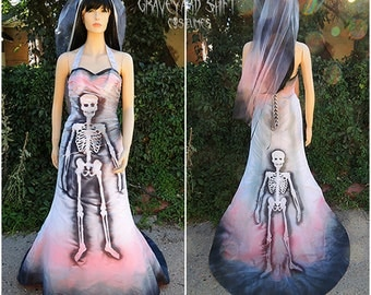 Zombie Beauty Queen Costume Zombie Bride Skeleton Dress  Dead Movie Star Halloween Costume Dead Marilyn Monroe Pink dress