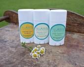 Natural Deodorant, Aluminum Free Deodorant Set, Essential oil beeswax arrowroot deodorant for Men, Women, Teen, paraben and dye free,
