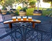 Beer Flight Wine Barrel Taster