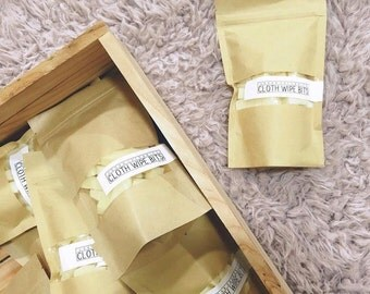 CLOTH WIPE BITS // Concentrated Cloth Wipe Solution. Calendula Soap Bits - - - Vegan ∙ Organic ∙ 100% Natural