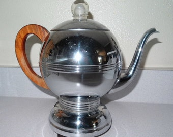 Art Deco Coffee Pot Manning Bowman