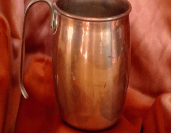 Single Solid Copper Cup or Mug