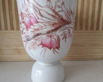AESTHETIC EGG CUP antique period Porcelain unmarked 4B