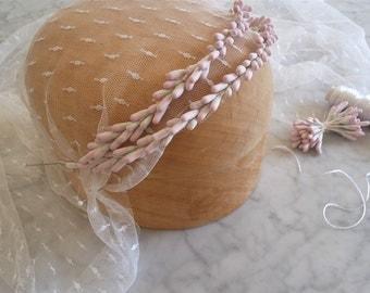 Wedding headpiece / bridal tiara / Bridal headpiece / Wedding tiara / Wedding buds headpiece/  Wedding Hair vine / Wedding hair garland