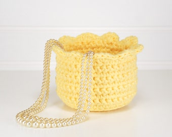 Mothers Day Gifts - Crocheted Bowls - Crocheted Basket - Decorative Baskets - Gift Baskets for Women - Baskets for Storage - Trinket Bowl