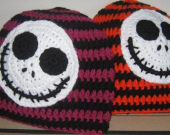 Striped Jack Skellington Hat