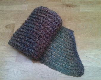 Beautiful hand knitted scarf